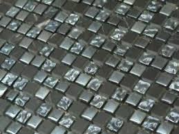 details zu naturstein glasmosaik fliesen 15x15 mm marmor mosaik badezimmer