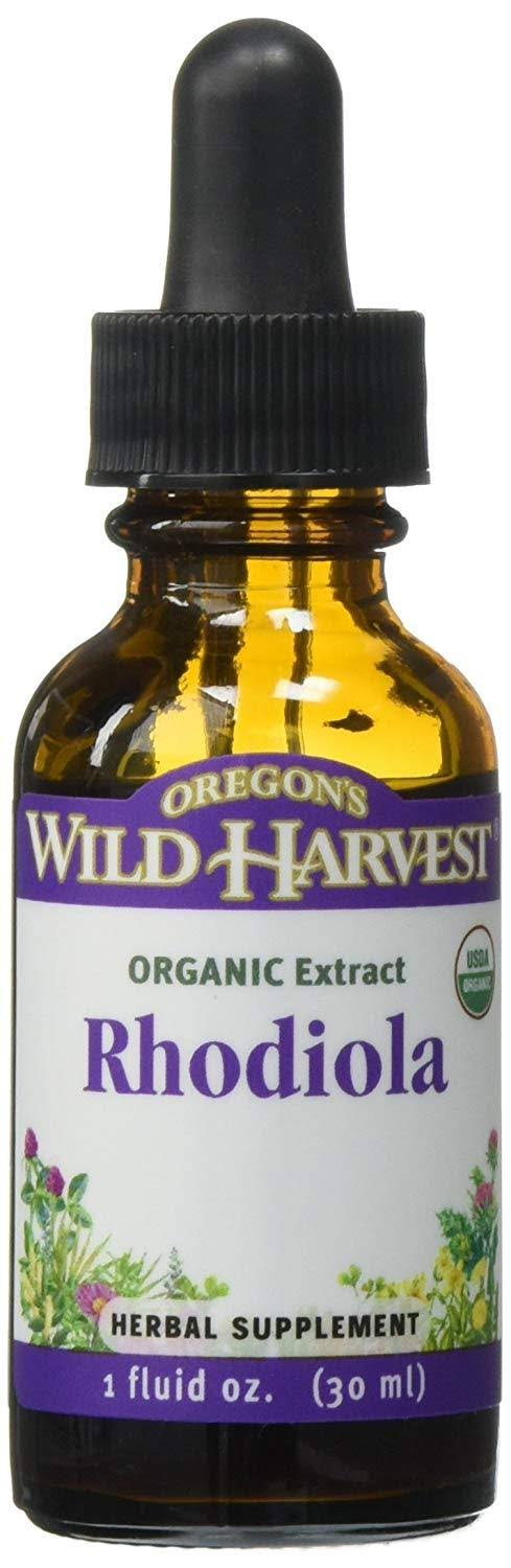 Oregons Wild Harvest Organic Rhodiola Extract - 1oz
