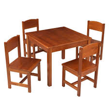 Kidkraft Heart Kids Table And Chair Set by Kidkraft Farmhouse Table And Chair Set Pecan Midimore Decoration