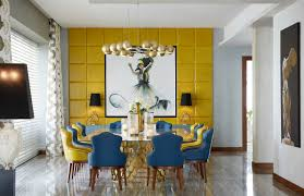Accent Chairs 7 Rainbow Dining Room Ideas Trendy And For It
