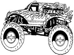 116 Best Colour Pages Monster Truck Images On Pinterest With Box Coloring Page