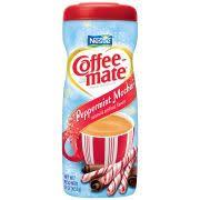 Nestle Coffee Mate Powder Creamer Peppermint Mocha 15 Oz Jar
