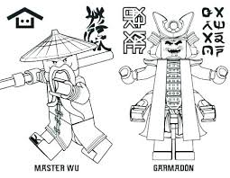 Ninjago Coloring Pages Snakes To Print Free Lego