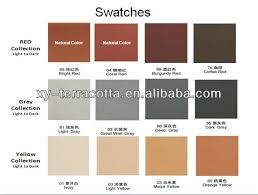 2018 gray beige terracotta panel exterior wall cladding tile