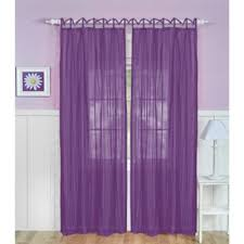 buy purple curtain panels from bed bath beyond