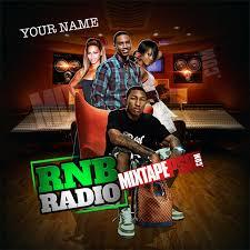 Mixtape Cover Template RNB Radio MIXTAPEPSD