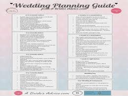 Brilliant Planning A Wedding Guide Free Timeline Checklist Printable