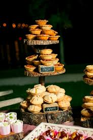 Mini Fall Pies In A Tower