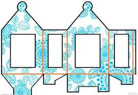 DIY Diwali Paper Lantern Craft Template 10