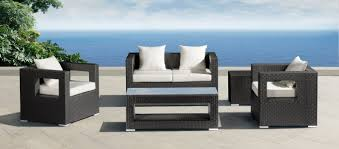 Modern Patio Furniture Debonair Outdoor For Zuo Algarve Sofa Design Chair Designs