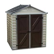 keter factor 8 ft x 6 ft outdoor storage shed 213039 the home