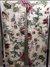 Waverly Fabric Curtain Panels by Waverly Floral Traditional Curtains Drapes U0026 Valances Ebay