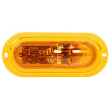 Super 60, LED, Yellow Oval, 11 Diode, Side Turn Signal, Yellow ... Trucklite 60 Series Grommet Amazoncom 602r Stopturntail Lamp Automotive 060r Red Oval Retrofitstop Light Kit 26 Led 27450c Headlamp Truck Lite Model Offers 6inch Combination Headlights Lights 2x6 In Work 6 Diode 450 Lumen 12v Pedestal Indicator 2752 New Truck Lite Model Oval Reverse Light Clear 04 Dot 60074y Yellow Frontparkturn