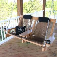 hammock style outdoor wooden swing bed with canopy outdoor designs