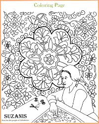 Uzbek Coloring Pages Kids Of Courage