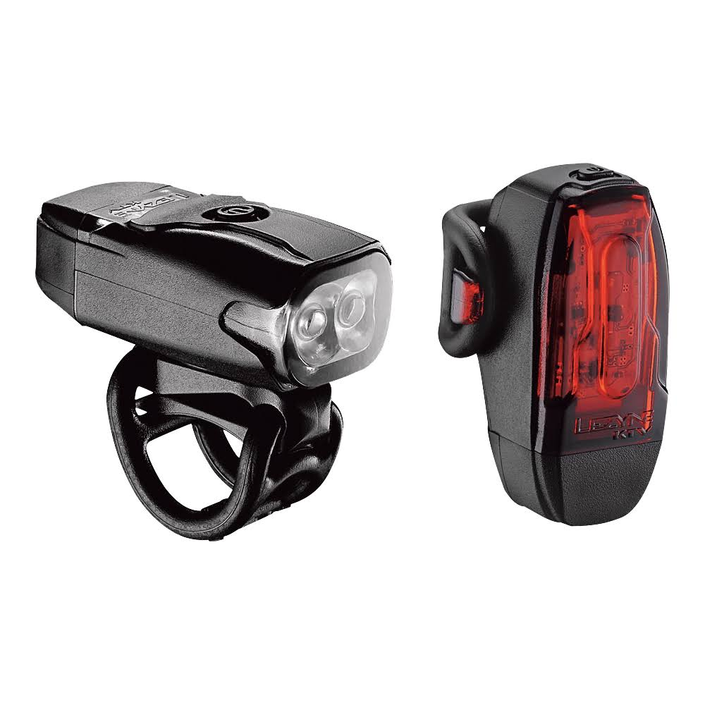 Lezyne KTV Drive Headlight and Taillight - Black
