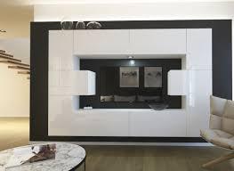 möbel für wohnzimmer weiß hochglanz monaco nx 4
