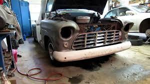 100 55chevy Truck 55 Chevy Truckbumper Mounts Rusty Doors YouTube