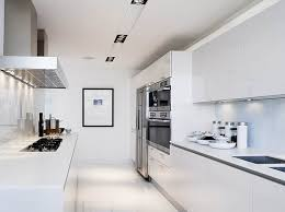 Image Of Two Wall Galley Kitchen Design