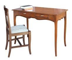 bureau classique bureau stylisé largeur cm 110 lamaisonplus