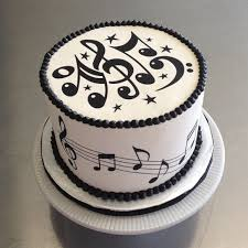 Music Birthday Cake About Cake Music Pinterest Music Cakes Musicals And Electric Guitars White