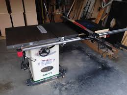 Used Grizzly Cabinet Saw by Review Grizzly G0771 Table Saw Review By Kristian S