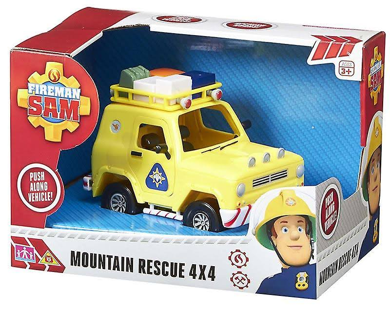 Fireman Sam Mountain Rescue 4 x 4 Toy