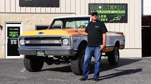 100 Chevy Truck 1970 Cheyenne K10 4x4 For Sale Modern Muscle Cars