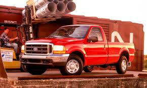 Ford F-Series: A Brief History - » AutoNXT 21999 Ford F1f250 Super Cab Rear Bench Seat With Separate 1975 F250 Ignition Wiring Diagram Complete Diagrams 1999 Duty Fseries Truck Sales Brochure F150 Alternator Services Tenth Generation Wikipedia Dark Hunter Green Metallic Xl Extended Trucks V10 For Sale Genuine Ford Svt Lightning Review Rnr Automotive Blog Bangshiftcom 2006 Turn Signal Data