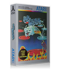 Atari 5200 Mr Cool Game Cover To Fit A UGC Style Replacement Case