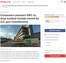 100 Outdoor Brands Petition To MEC To Drop Outdoor Brands Owned By US Gun