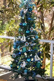 Seashell Christmas Tree Garland by The Decorative Dreamer Nautical Christmas Tree Christmas