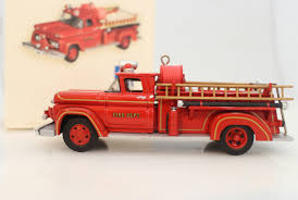 Hallmark Keepsake Ornament 2006 Fire Brigade #4 - 1961 GMC Fire ... Amazoncom Hallmark Keepsake 2017 Fire Brigade 1979 Ford F700 Personalized Truck On Badge Ornament Occupations Lightup Led Engine Free Customization Youtube 237 Best Christmas Tree Ideas Images On Pinterest Merry Fireman Hat Ornament Refighter Truck Aquarium Decoration 94x35x43 Kids Dumptruck 1929 Chevrolet Collectors 2014 1971 Gmc Home Old World Glass Blown