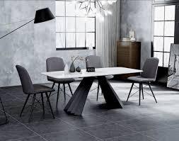 design esszimmer gruppe tisch 4 stühle sitz polster garnitur tische lehn stuhl
