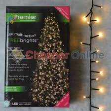 Ebay Christmas Trees With Lights by Premier 500 Treebrights Led Christmas Tree Lights Warm White Ebay