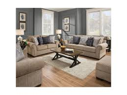 Milari Sofa Living Spaces by United Furniture Industries 7592br Transitional Sofa With Rolled