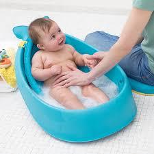 Puj Baby Portable Bathtub by Amazon Com Skip Hop Moby Bath Smart Sling 3 Stage Bathtub Blue
