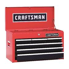 Craftsman 26 In. 12 In. D X 15-1/4 In. H 6 Drawer Steel Top Tool ...