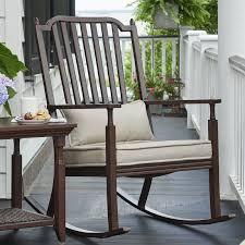 Light Gray Rocking Chair Cushions by Metal Patio Rocking Chairs You U0027ll Love Wayfair