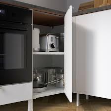 enhet eckküche weiß hochglanz weiß