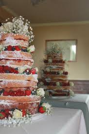 Sponge Wedding Cake Ideas Photo