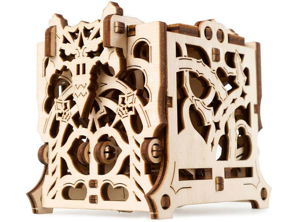 Ugears UTG0052 Dice Keeper Wooden 3D Model Kit