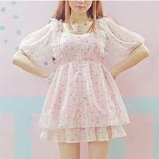 PinkBlue Summer Cute Princess Girly Girl Shirt Soft Sister Ruffled Retro Lace Bow Floral Chiffon Shirts Mori Doll Blouse In Blouses From