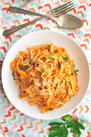 Homemade Pasta Without a Machine with Vodka Sauce