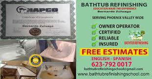 Bathtub Refinishing Phoenix Az by Bathtub Refinishing Training Phoenix Arizona Technical Training