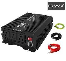 100 Power Inverters For Trucks Amazoncom ERAYAK 1000W Inverter DC 12V To 110V AC Car