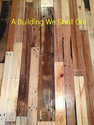 Buffing Hardwood Floors Diy by A Building We Shall Go The Art Of Pallet Wood Flooring