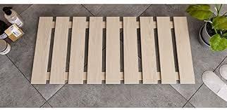 suleno sauna bodenrost 100 x 46 cm fichte natur