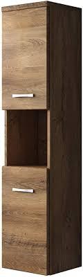 badplaats bv badezimmer schrank montreal 131 cm lefkas regel schrank hochschrank schrank möbel