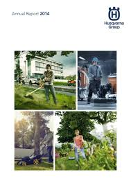 Husqvarna Tile Saw Canada by Husqvarna Group Annual Report 2014